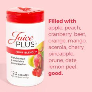 J+ Capsules de fruits    120 capsules