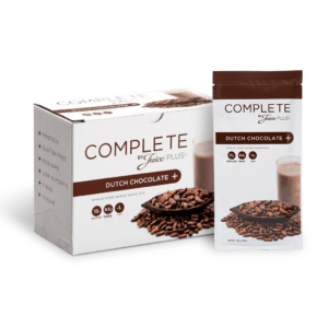 """""""Complete"""" Shake végan protéiné au chocolat      1 portion découverte"""