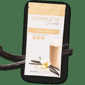 """""""Complete"""" Shake végan protéiné à la vanille      1 portion découverte"""